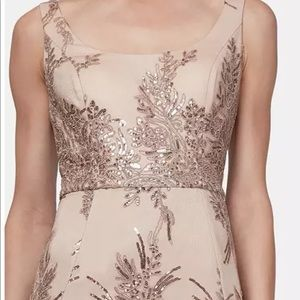 SL NY Rose Gold Formal Gown sz 8 NWT was $135